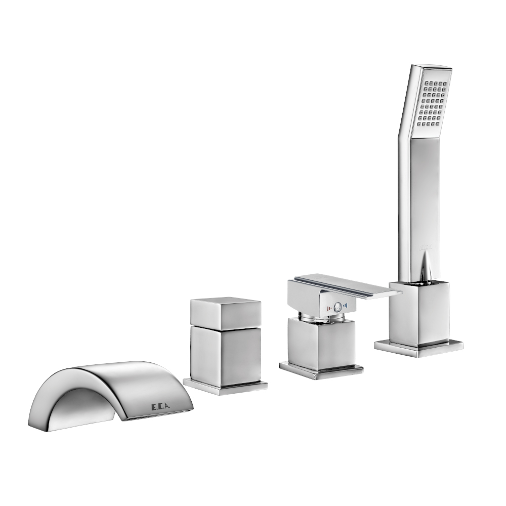 Elegant Concealed Bathtub Mixer 4TH