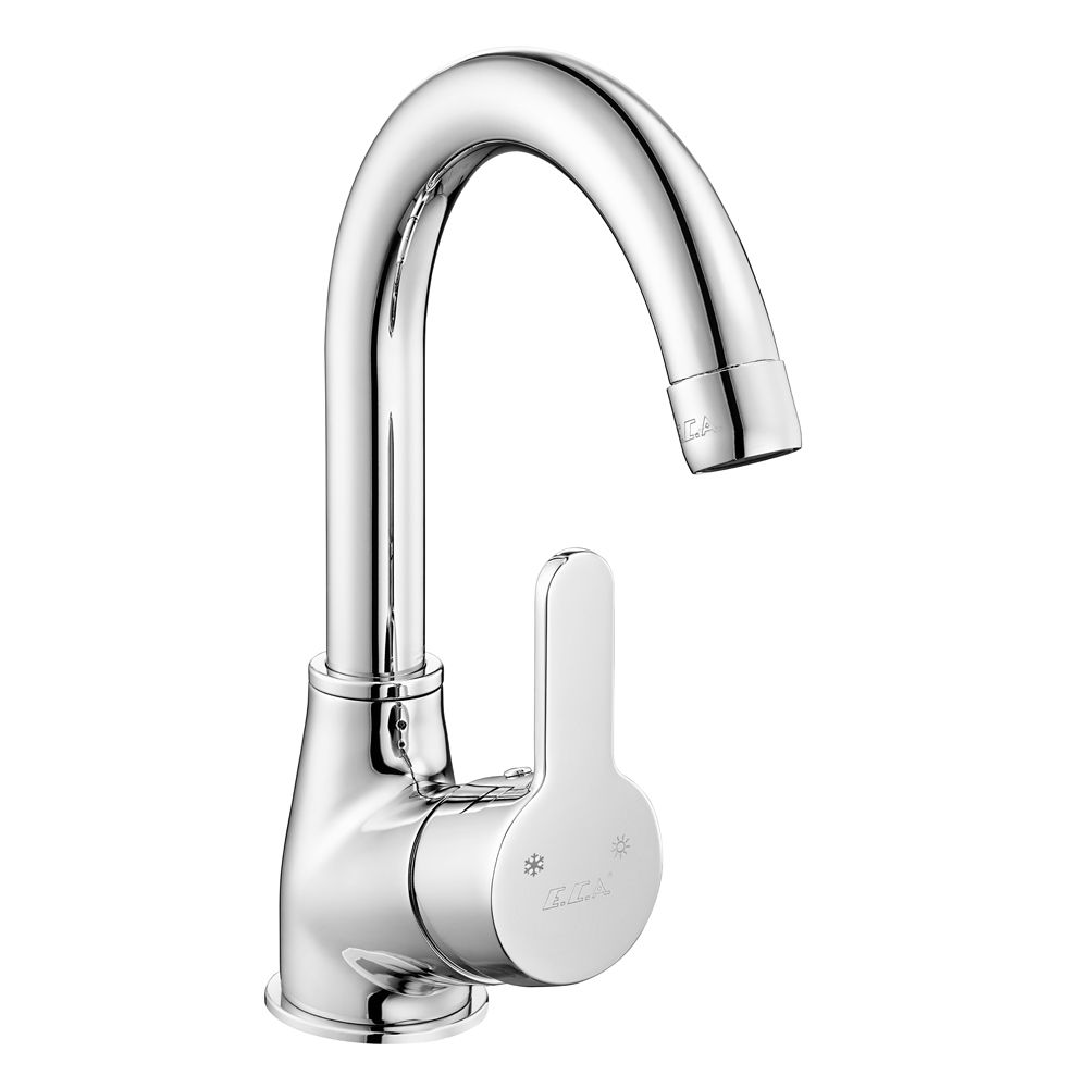 Spil Basin Mixer with Swivel Spout