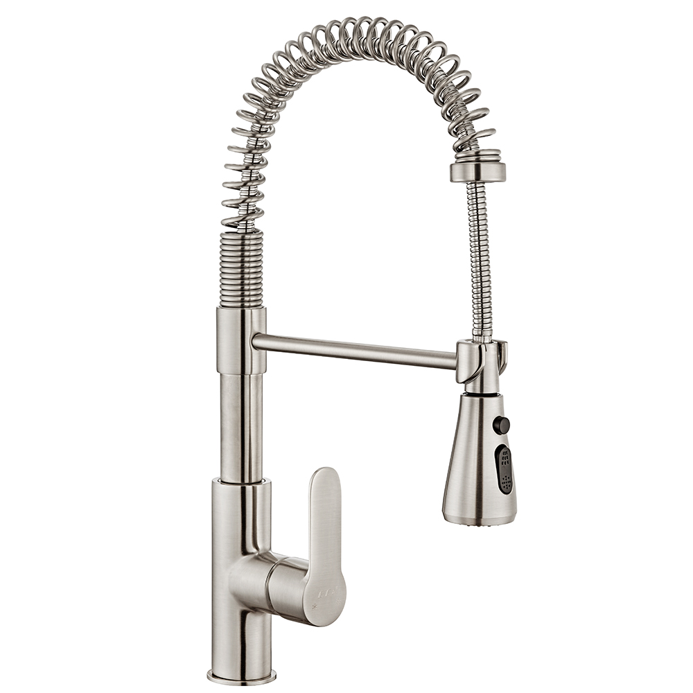 Nita Sink Mixer - Stainless Steel Effect