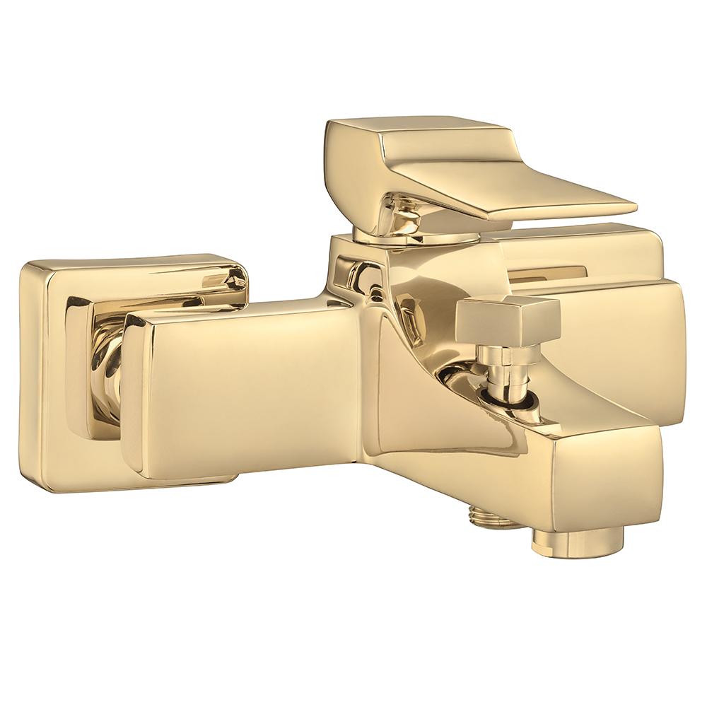 Caro Bath Mixer - Gold Effect
