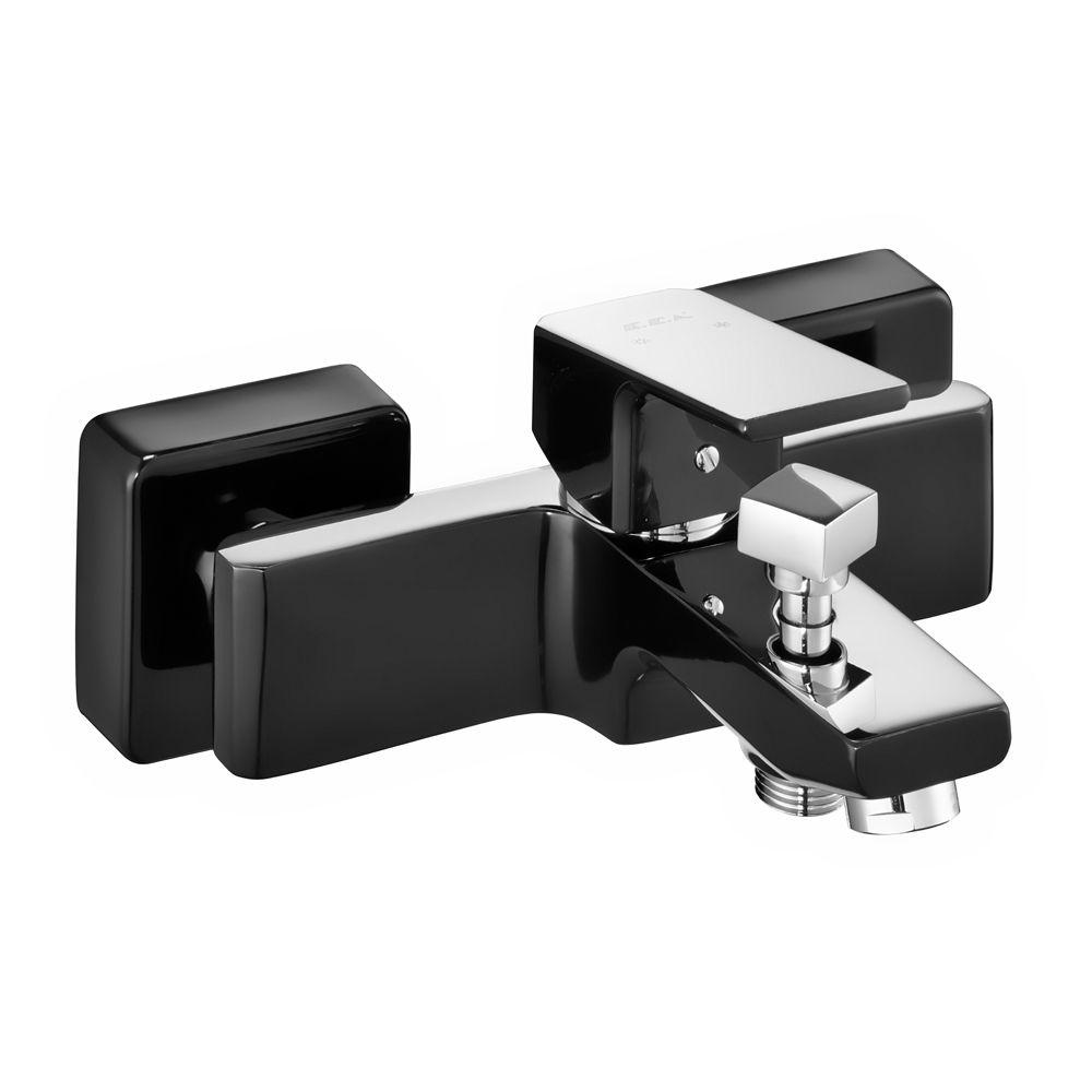 Tiera Banyo Bataryası - Siyah-Krom