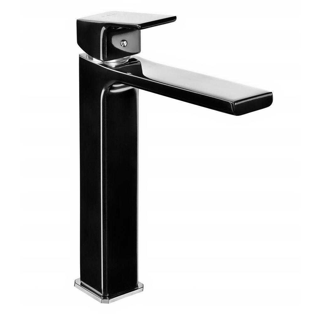 Tiera Tall Basin Mixer - Black