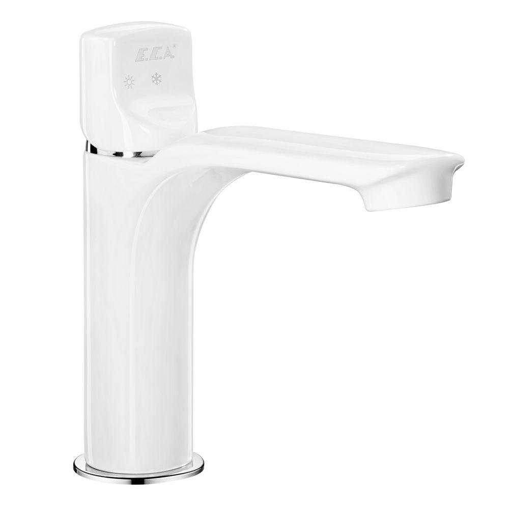 Myra Basin Mixer - White