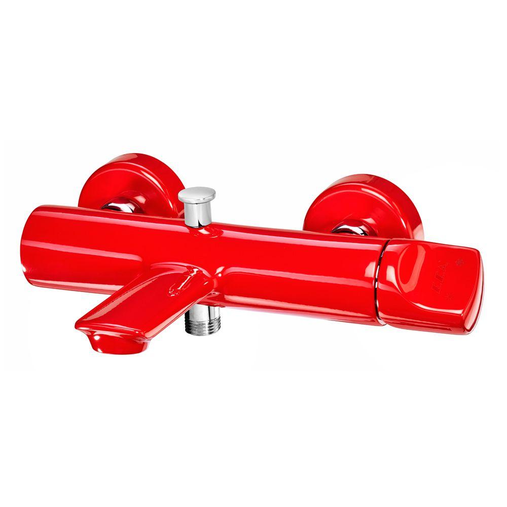 Myra Bath Mixer - Red