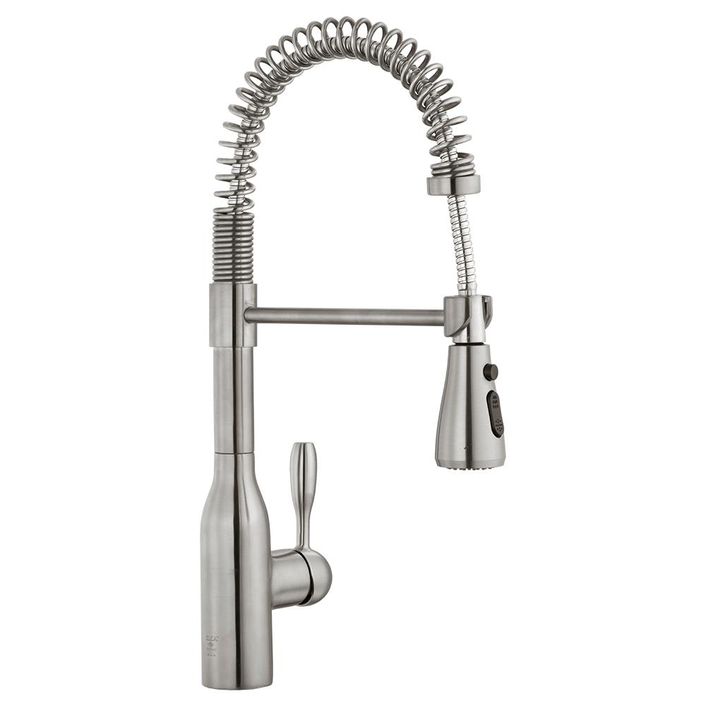 Flux Sink Mixer - Stainless Steel Effect