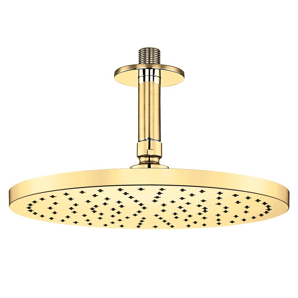 Myra Duş Başlığı - Tavandan - Altın Görünümlü