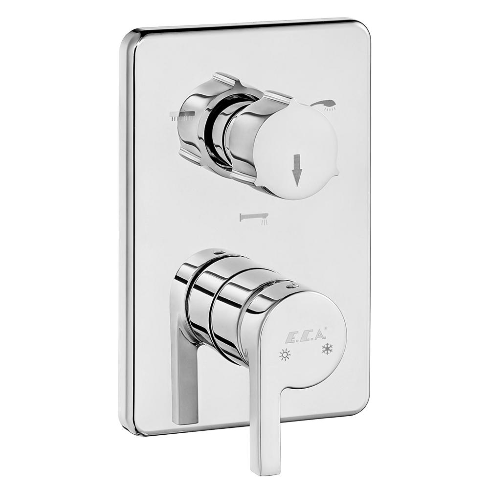 Icon Ankastre Banyo Bataryası Sıva Üstü Grubu - 3 Yollu