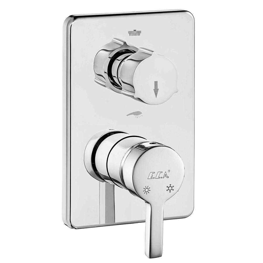 Mina Ankastre Banyo/Duş Bataryası Sıva Üstü Grubu - 2 Yollu