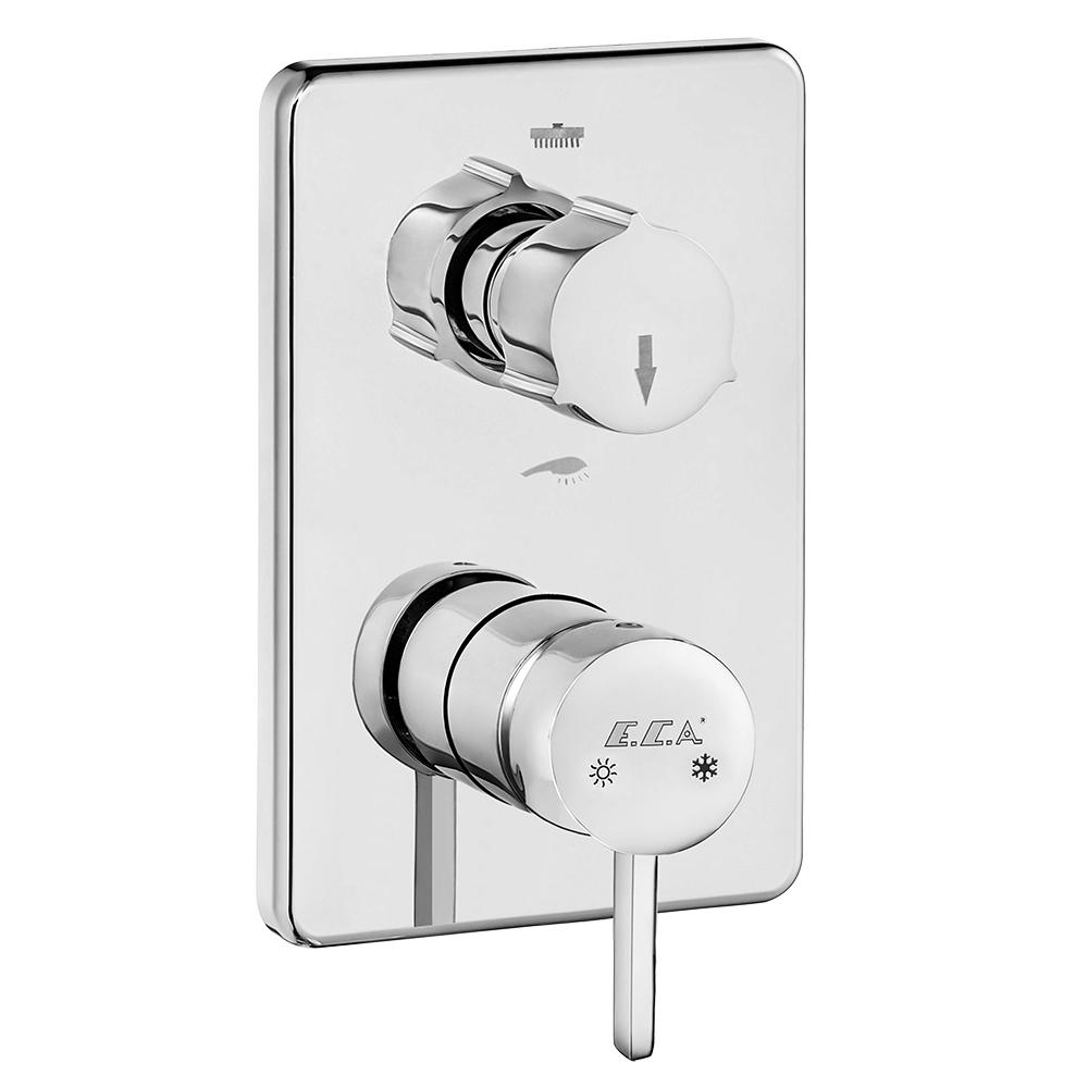 Purity Ankastre Banyo/Duş Bataryası Sıva Üstü Grubu – 2 Yollu