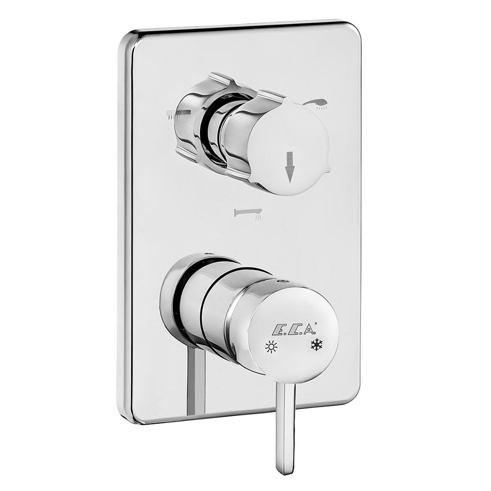 Purity Ankastre Banyo Bataryası Sıva Üstü Grubu – 3 Yollu