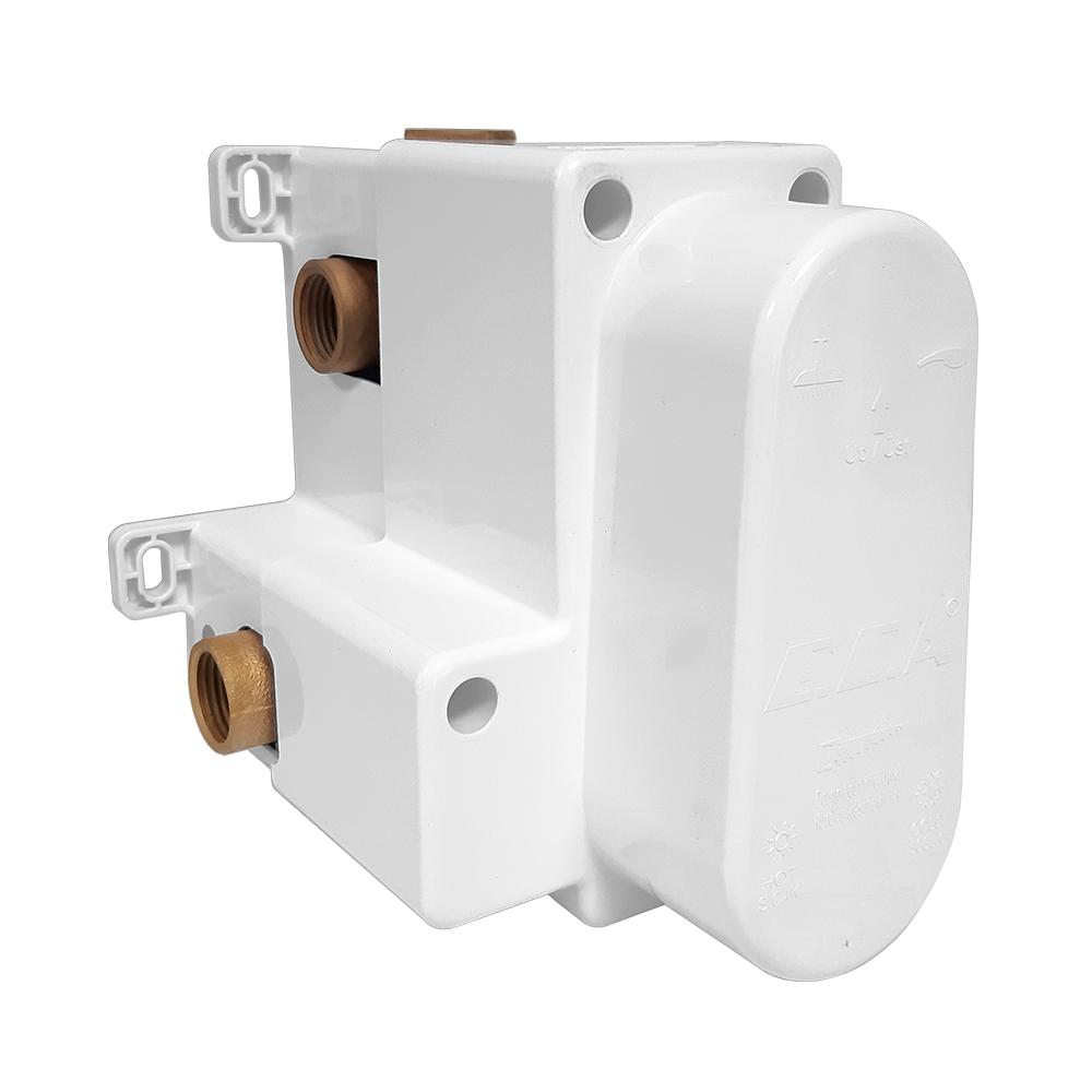 Termostatik Ankastre Banyo/Duş Bataryası Sıva Altı Grubu - 2 Yollu