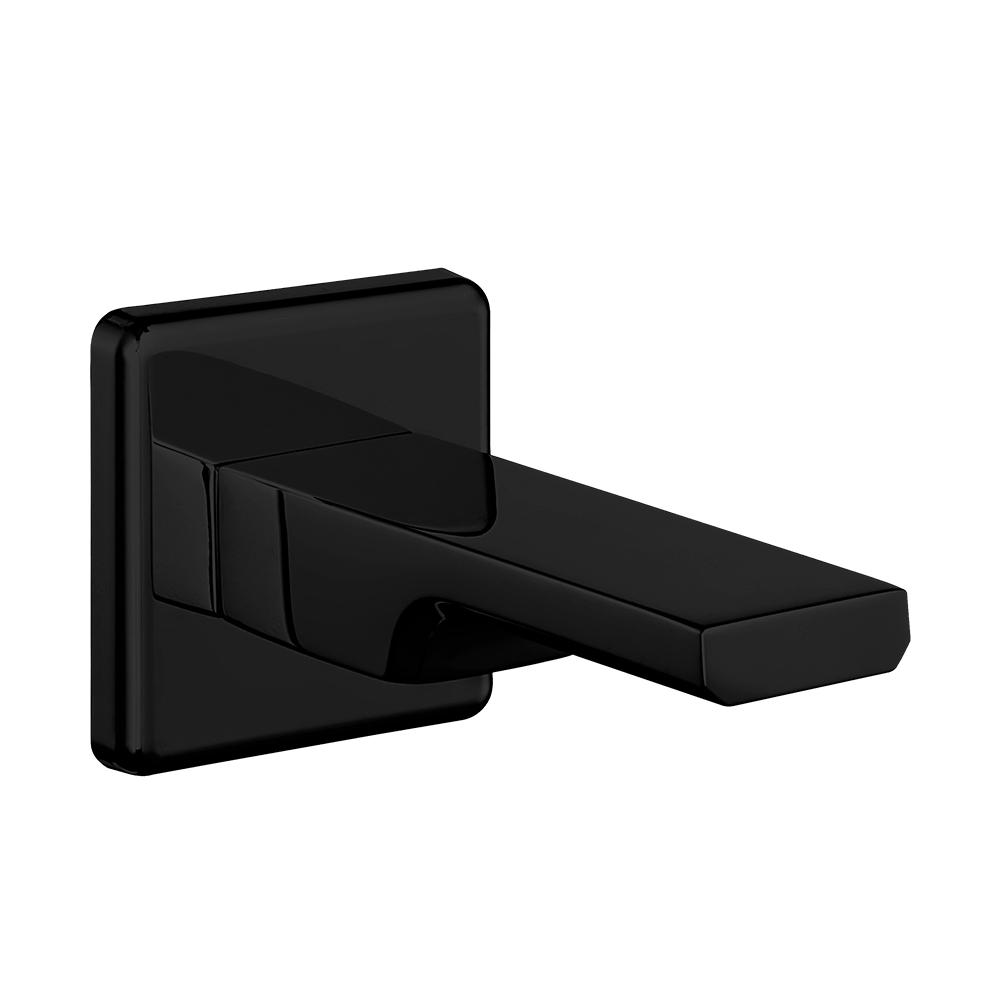 Ankastre Banyo Bataryası Çıkış Ucu Grubu - Mat Siyah