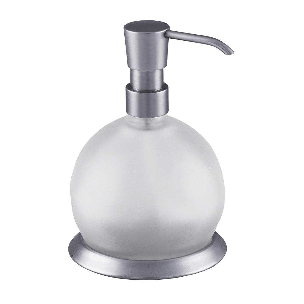 Set Üstü Cam Küre Sıvı Sabunluk
