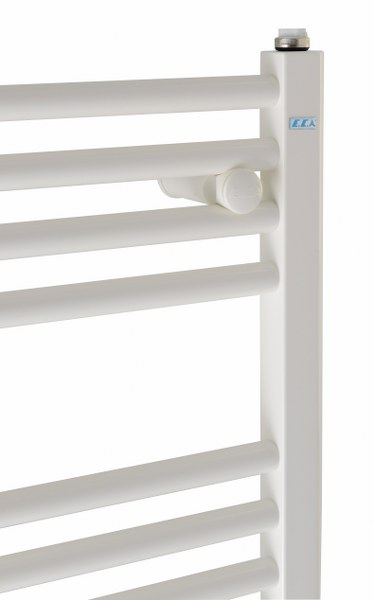 White Painted Towel Warmer