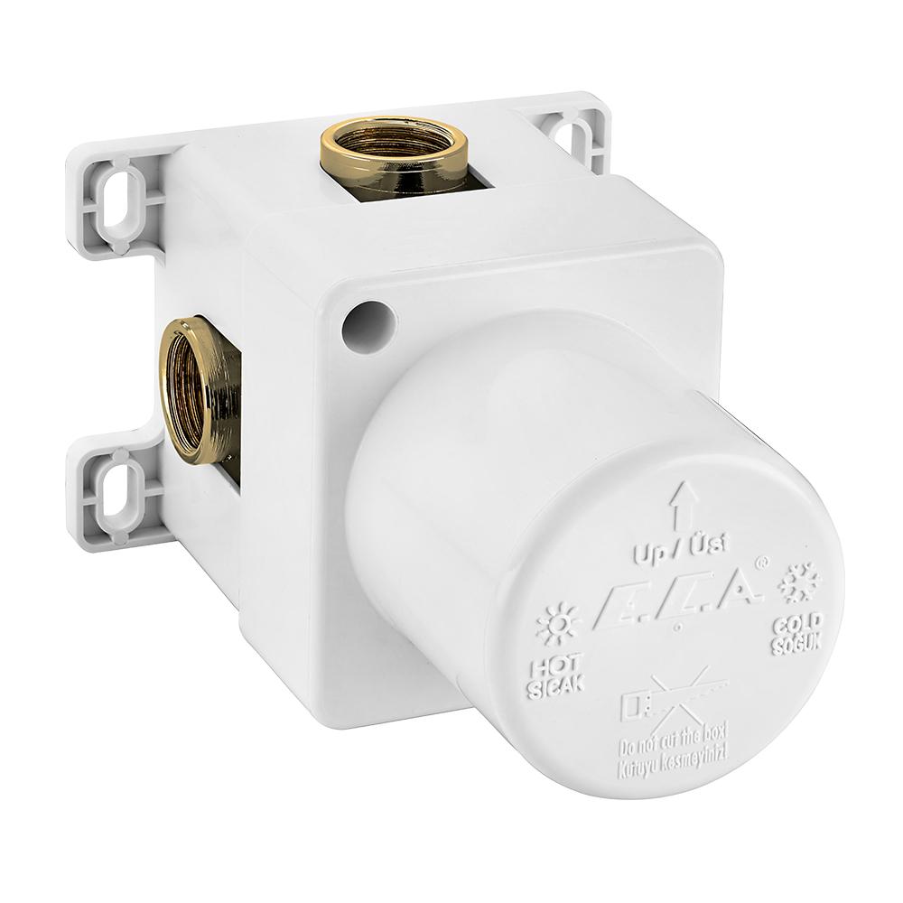 Ankastre Duş Bataryası Sıva Altı Grubu - Mat Beyaz