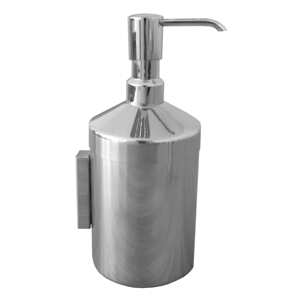 Duvara Monte Metal Silindirik Sıvı Sabunluk
