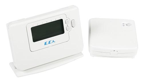 E.C.A. Dijital Oda Termostatı Kablosuz,Programlanabilir CM727