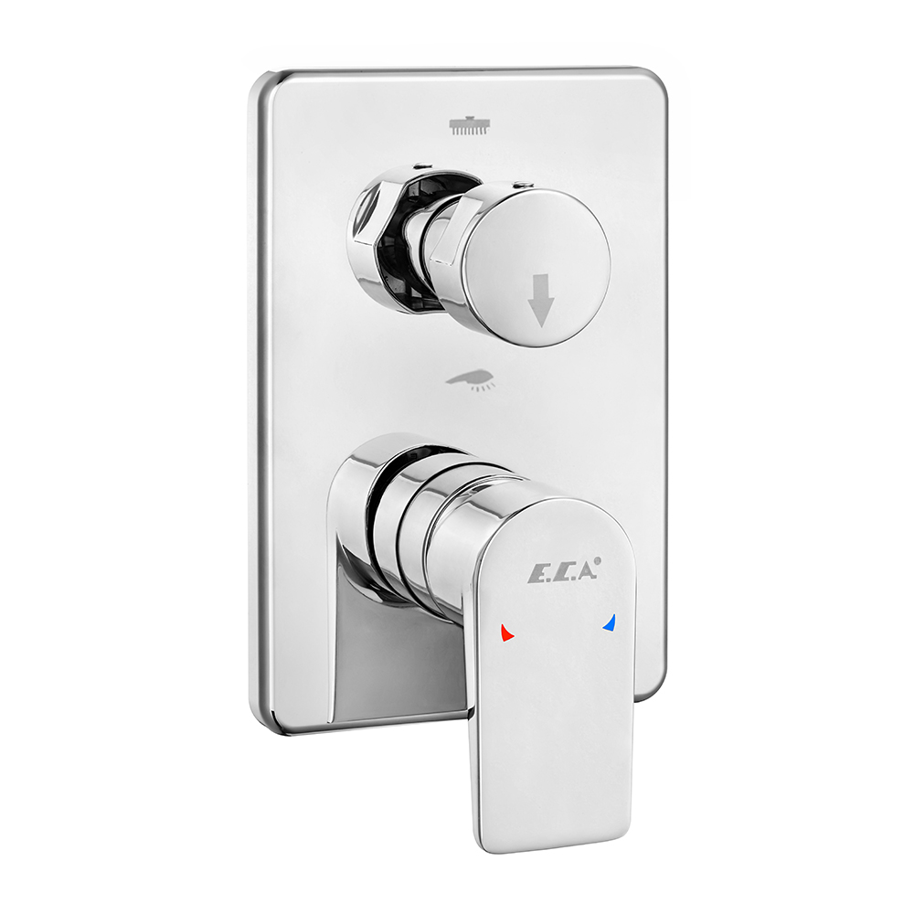 Dalia Concealed Bath/Shower Mixer Surface Mounted Group - 2 Way Diverter