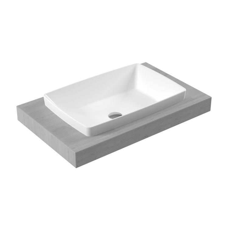RT34 Rita Countertop Washbasin 60x40cm