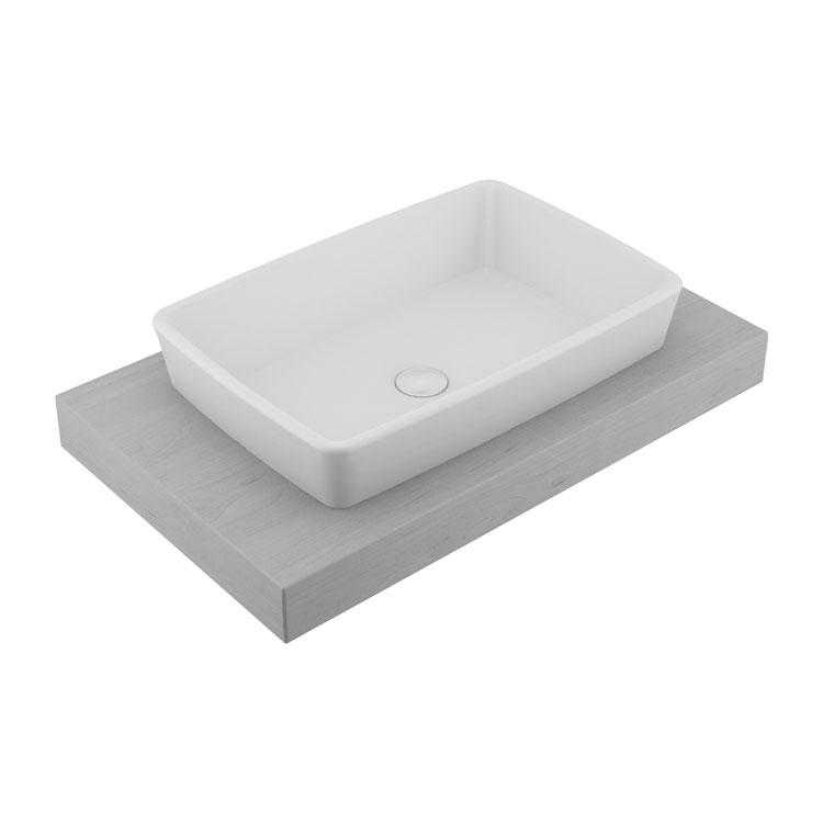 RT46 Rita Countertop Washbasin 60x40cm